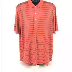 Greg Norman Play Dry Men Short Sleeve Striped